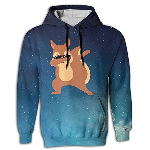 Frouren Dabbing Squirrel With Sunglasses Men Sweater - Guys Cool Teenage For Sunglasses