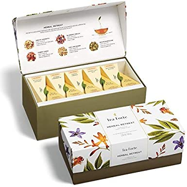 Tea forté Herbal Retreat – Ribbon Caja con 20 té de pisos), 1er ...