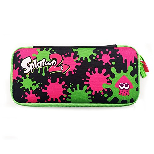 Hori splatoon 2 hard pouch officially licensed nintendo for Housse switch