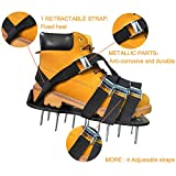 Oiuros Lawn Aerator Shoes, Easiest to USE Lawn