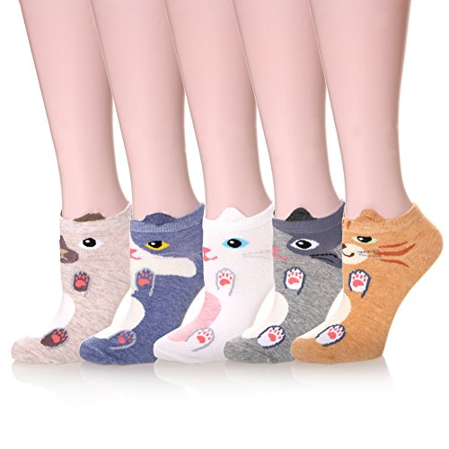 Velice Womens Cartoon Animal Socks