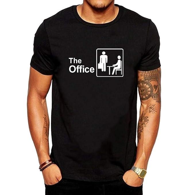 Manadlian Camisetas Hombre Manga Corta, Camisetas Hombre ...