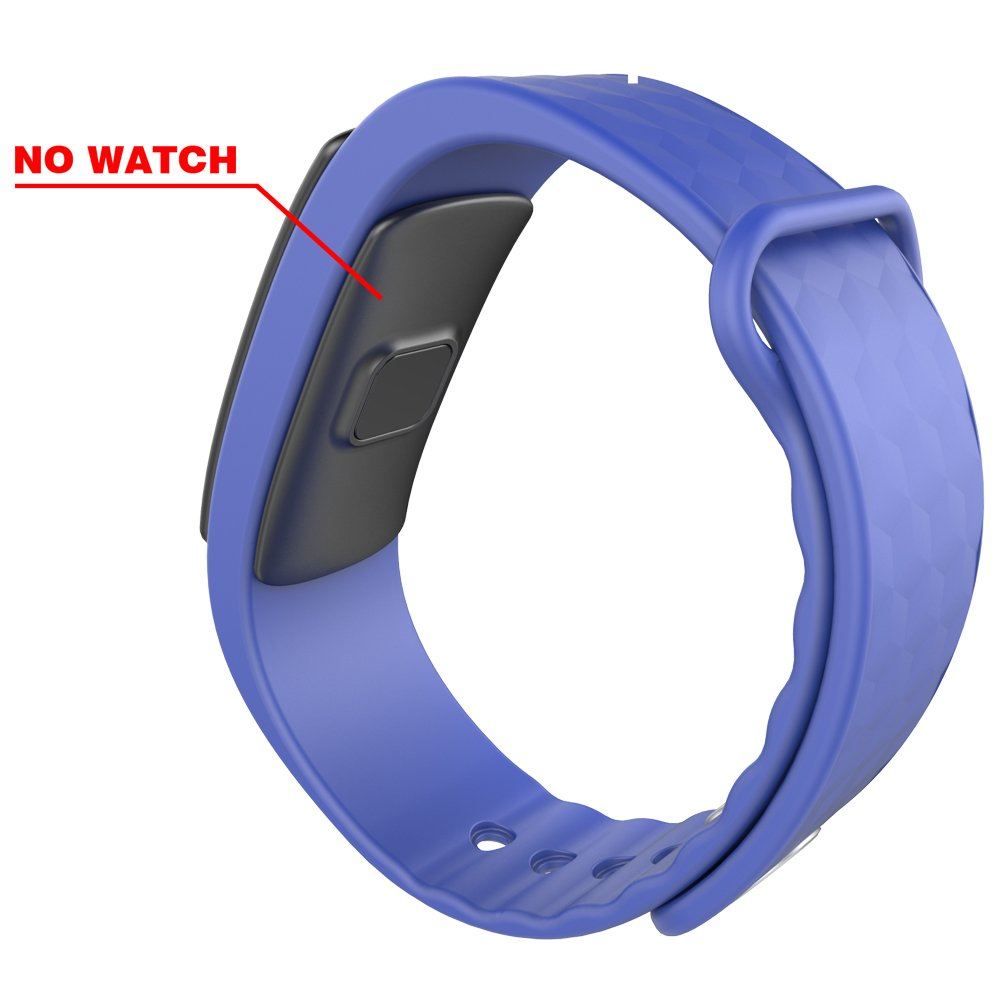 AUPALLA Replacement Style Wrist Band for LINTELEK Alisten iwown I3// I3HR Fitness Tracker Smart Band