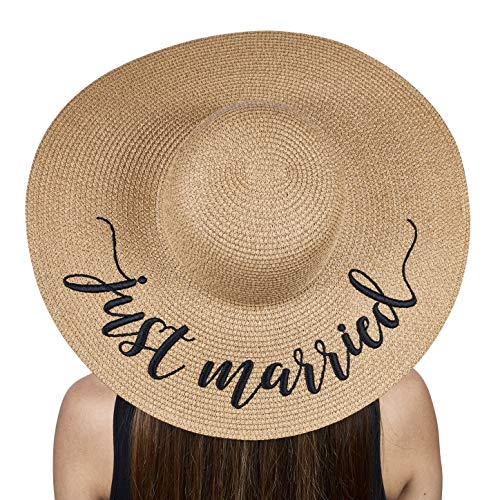 The Chic Soul Beach Floppy Hat for Bridal