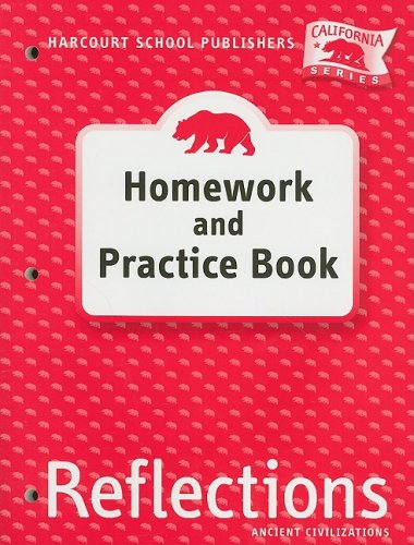 Harcourt School Publishers Reflections California Homework