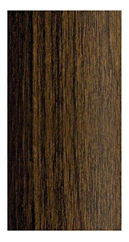 UPVC SELF-Adhesive Wood Effect Door Edging Floor Trim Threshold PVC SELF-Adhesive 1000mm x 40mm E64 WENGE Congo