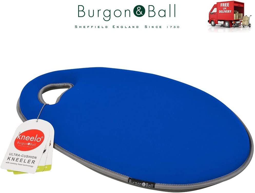 Burgon /& Ball RHS Gardening Kneelo British Bloom Kneeler Memory Foam Great Garden Gift