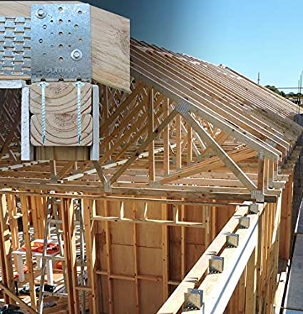 Amazon com: Hurricane Roof Anchors for Truss Connection