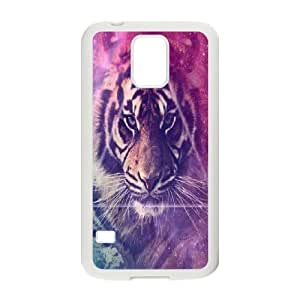 Tiger Customized Cover Case for SamSung Galaxy S5 I9600,custom phone case ygtg538241