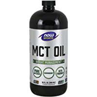 NOW Sports Nutrition, MCT (Medium-chain triglycerides)Oil, Liquid, 32-Ounce