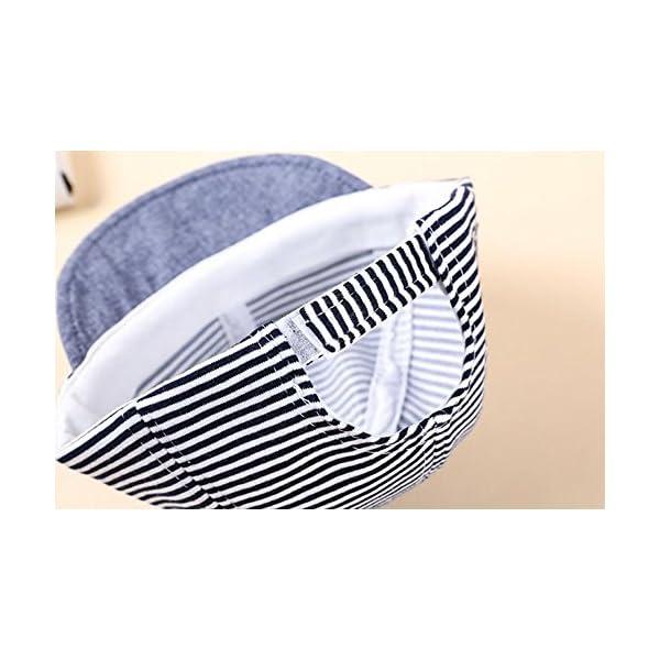WeiMay Cappellino Bambino, Berretto da Baseball Regolabile per Bebè Estivo da Bambino Cappello da Sole Regolabile per… 6 spesavip