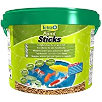 Tetra. Pond Sticks 10L Bucket - Food for all pond Koi Fish