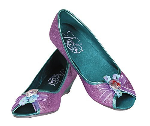 Disguise Ariel Disney Princess The Little Mermaid Prestige Shoes, 9/10 Small by Disguise