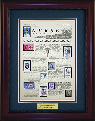 Nursing - Unique Framed Collectible (A Great Gift Idea) with Personalized Engraved Plate