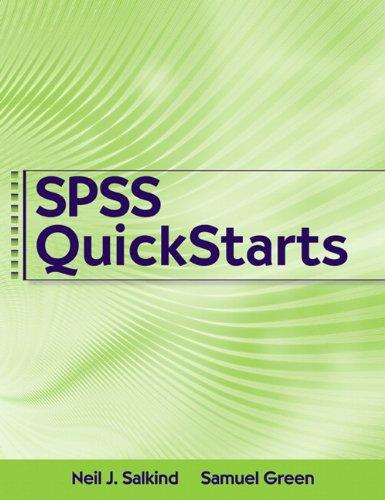 SPSS QuickStarts