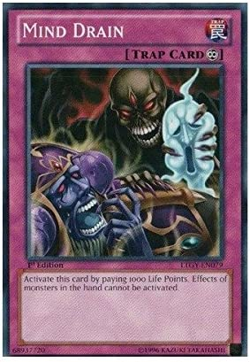 Mind Drain LTGY-EN079 Common Yu-Gi-Oh Card 1st Edition New