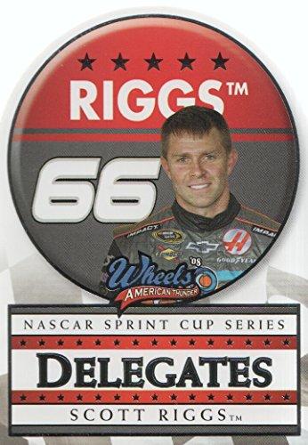2008 Wheels American Thunder NASCAR Racing Delegates #D14 Scott Riggs (Riggs Nascar Scott)