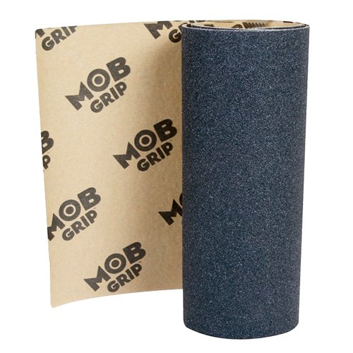 "Mob Skateboard Grip Tape Sheet Black 33"" Long X 9"" Wide - No"