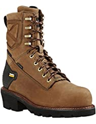 Ariat Mens Powerline 8 Inch H2O 400g Comp Toe Industrial