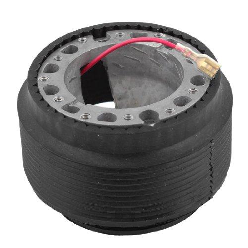uxcell Black Mode OT-48 Steering Wheel Hub Boss Adapter Kit w Hex Wrench for Toyota