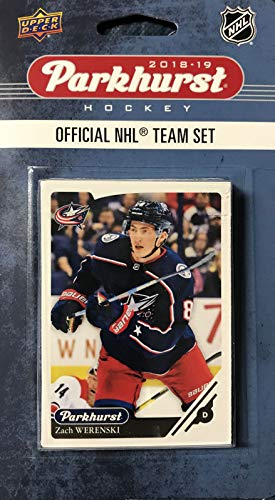 - Columbus Blue Jackets 2018 2019 Upper Deck PARKHURST Series Factory Sealed Team Set including Artemi Panarin, Sergei Bobrovsky and Brandon Dubinsky Plus 7 Others