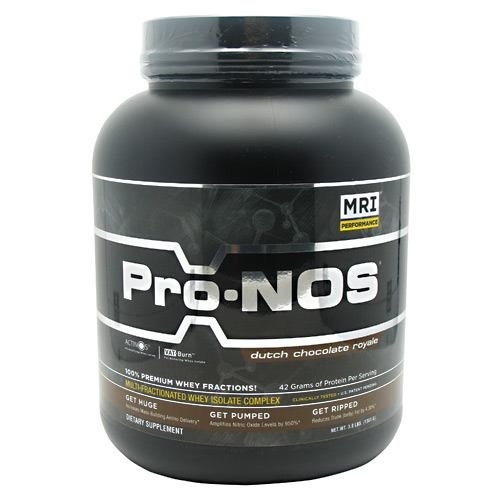 Pro-NOS with ActiNOS And VAT-Burn, Dutch Chocolate Royale, 3 lbs, From (Mri Pro Nos)