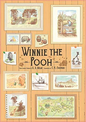 Educa Borrás 18256 Winnie The Pooh 500 Piece Photoframes Jigsaw Puzzle, Multi