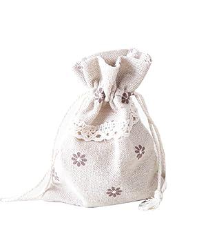 hosaire bolsa joyero en lienzo bolsas Organza para regalo ...