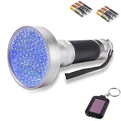 Yosky Uv Flashlight Blacklight Scorpion For Checking Money Pet