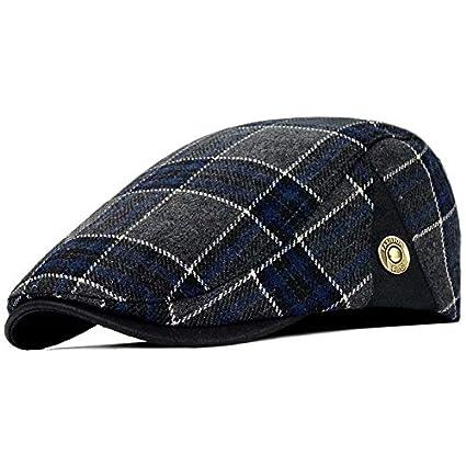 OTLC Sombrero Sombreros de Tela Escocesa de los Hombres de Las ...