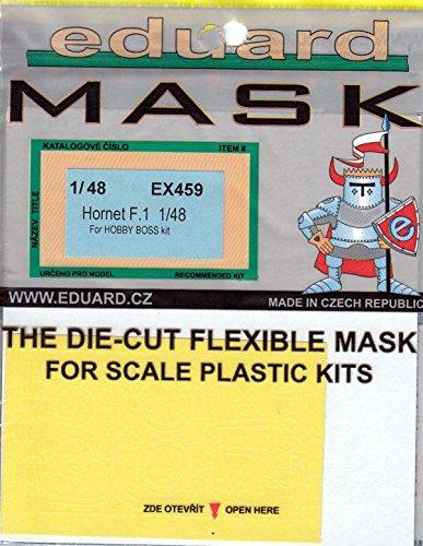 EDUEX459 1:48 Eduard Mask - Hornet F.1 (for use with the HobbvBoss model kit) [MODEL KIT ACCESSORY]]()