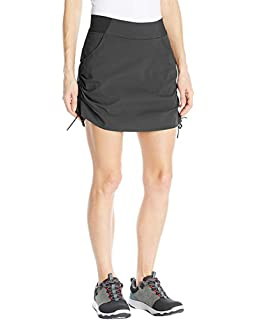 f6bad826161653 Women's Active Athletic Anytime Skorts with Underneath Shorts Lightweight  Quick Dry Workout Skirt with Pocket