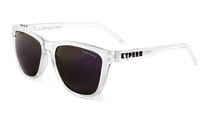KYPERS Caipirinha, Gafas de Sol Unisex, Clear-Purple Mirror, 54