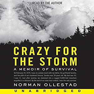 Crazy for the Storm Audiobook