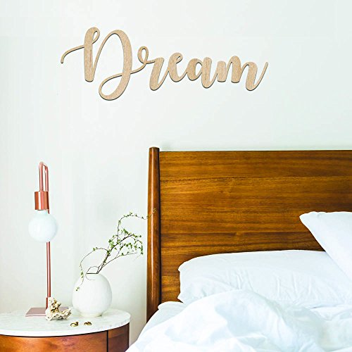 Gems on Display Dream Wood Sign Home Décor Wall Art