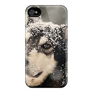 DaMMeke FOBuqQu2063gdcVM Protective Case For Iphone 4/4s(enjoying The Snow)