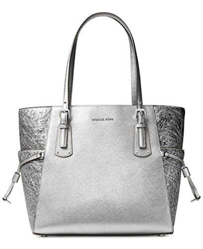 Michael Kors Pewter Handbag - 2