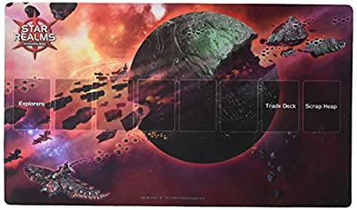 White Wizard Games Star Realms Death World Playmat Card Game