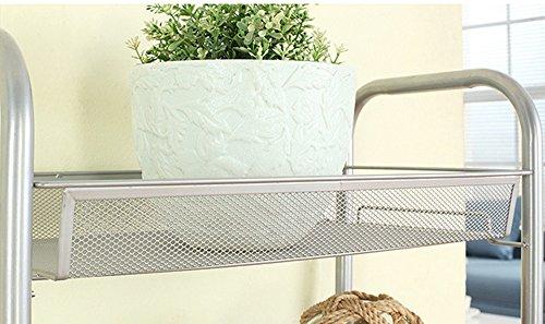Carrello Salvaspazio Cucina : Asvert carrello da cucina carrellino per bagno scaffale mensola