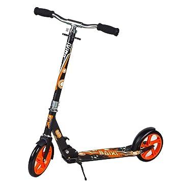 LJHBC Patinete Manillar Ajustable Scooter de cercanías no ...