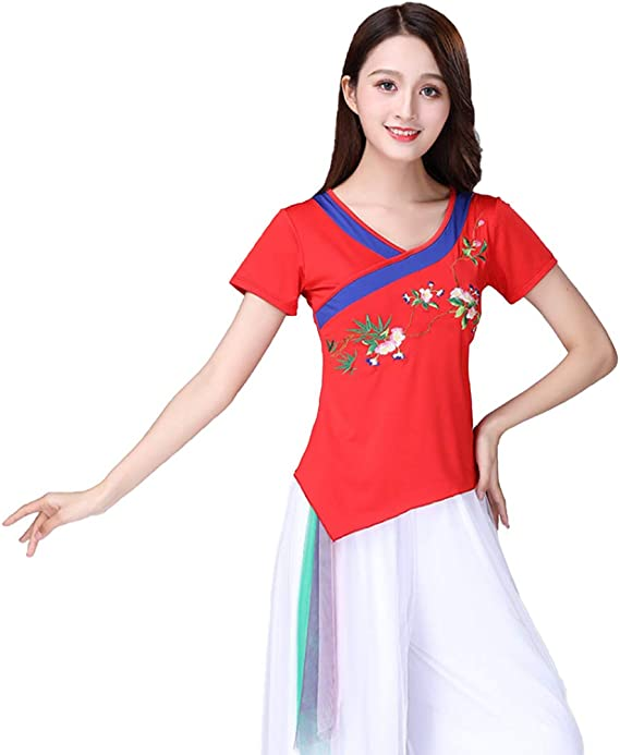 MU CHAOHAI Disfraz de Animadora de Baile Cuadrado de Mujer para ...