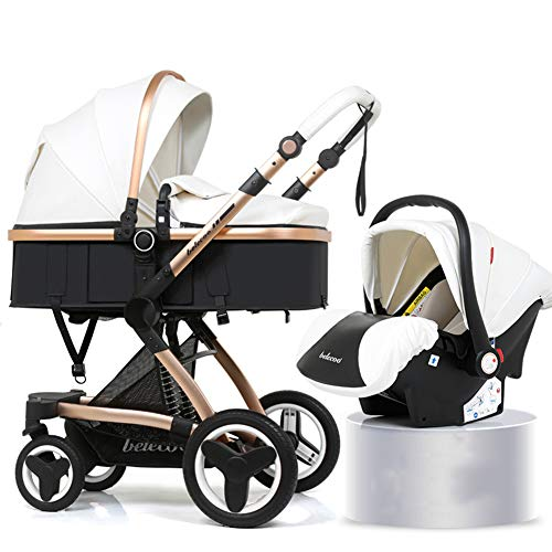 Travel Stroller Buggy Baby Child Pushchair High Landscape Portable Baby Carriages Folding Prams for Newborns,a