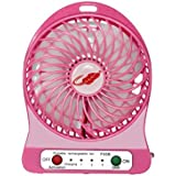 Baile Portable Fans Battery Operated Portable Rechargeable USB Desk Pocket Mini Fan Handheld Travel Blower Air Cooler