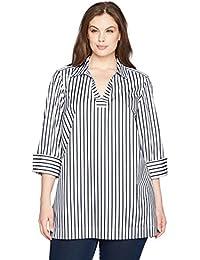 Women's Nora Slim Stripe Non Iron Tunic