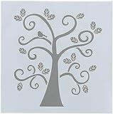 FolkArt Painting Stencil, 30610 Curly Tree