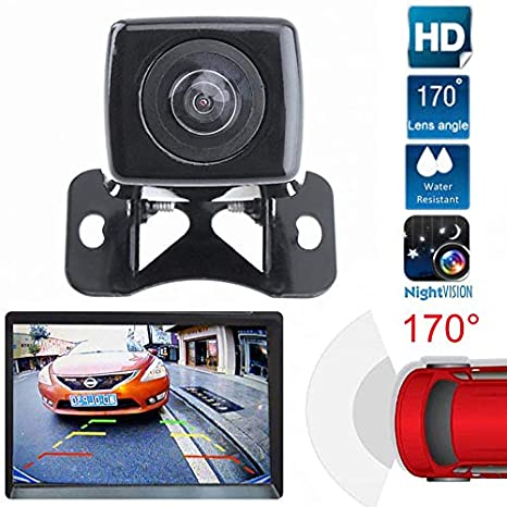 Wide View Angle Car Butterfly Back Camera Waterproof Auto Rear View Camera