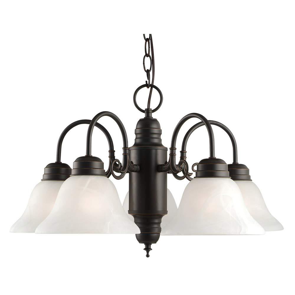 Design House 514455 Millbridge 5 Light Chandelier, Oil Rubbed Bronze