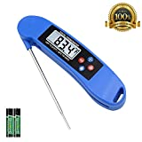 Digital Instant Read Meat Thermometer with Backlit for Kitchen Meat Food Candy Milk Grilling Cooking Smoker