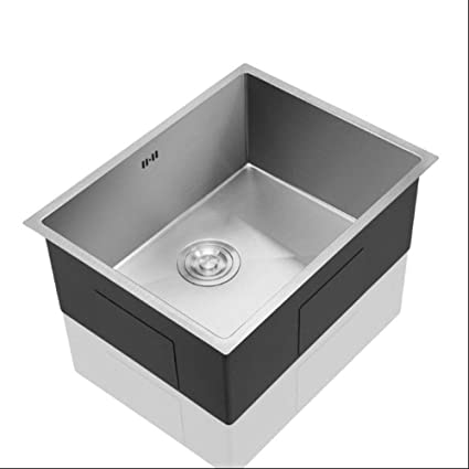 Amazon.com: YIEWFI Kitchen Sink Design, Single-Slot Square ...