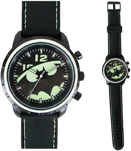 Batman Glow in the Dark Bat Logo Watch